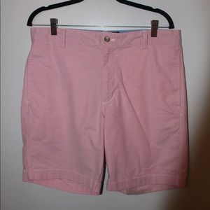 Pink Chaps Dress Shorts